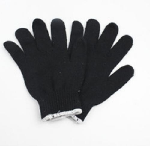 Găng tay len đen