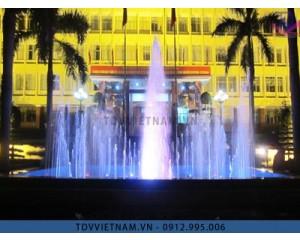Đài phun nước công an tỉnh Quảng Ninh