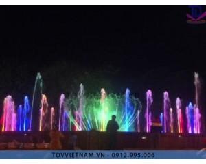Đài phun nước thành phố sông Công,Thái Nguyên