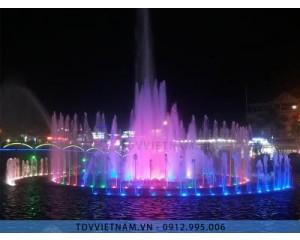 Đài phun nước thị xã Phổ Yên - Thái Nguyên