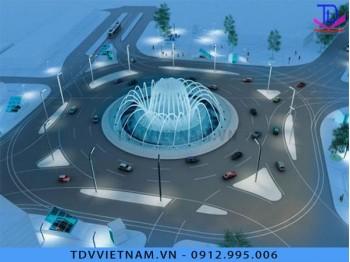 Đài phun nước cho khu đô thị