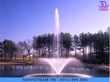 Mẫu đài phun nước mini cho sông hồ