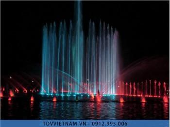 Nhạc nước nghệ thuật trên hồ