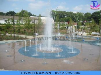 Sàn phun nước cho quảng trường