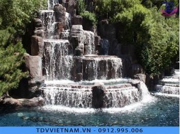 Đài phun nước cho khu du lịch