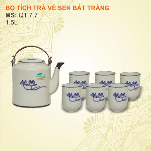 Bộ ấm chén pha trà
