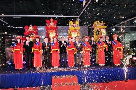 Tổ chức sự kiện khai trương đại lí xe hơi Huyndai tại Quảng Ngãi