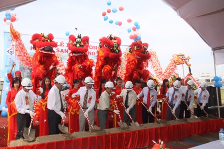 Tổ chức sự kiện khởi công động thổ