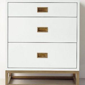 Tủ đầu giường 3 ngăn kéo gỗ