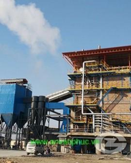 Lò hơi Biomass