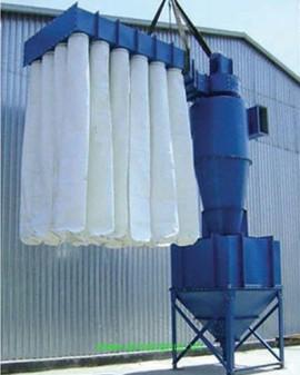 Hệ thống hút bụi kết hợp cyclone túi vải