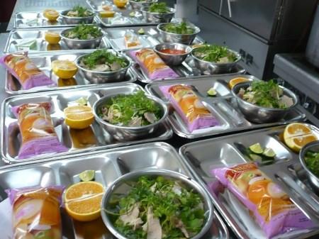 Suất ăn công nghiệp cho mẫu giáo