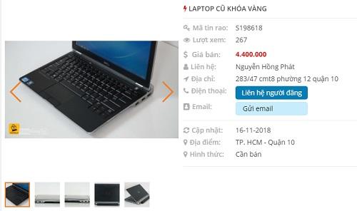 Đăng tin mua bán máy tính