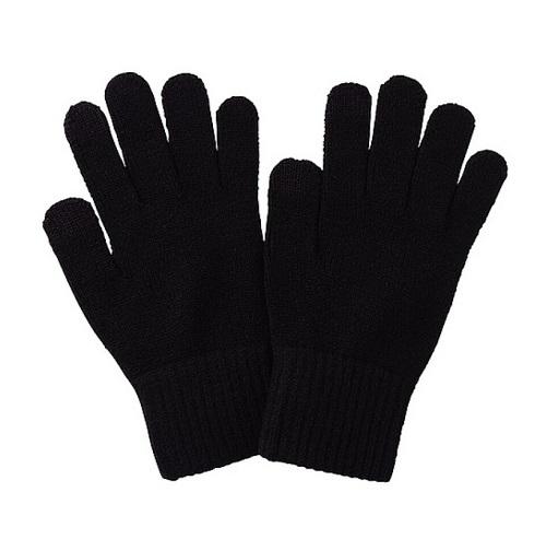 Găng tay poly đen