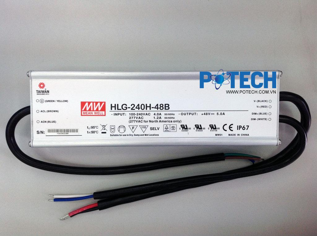 Mạch điều khiển Led MW 240W