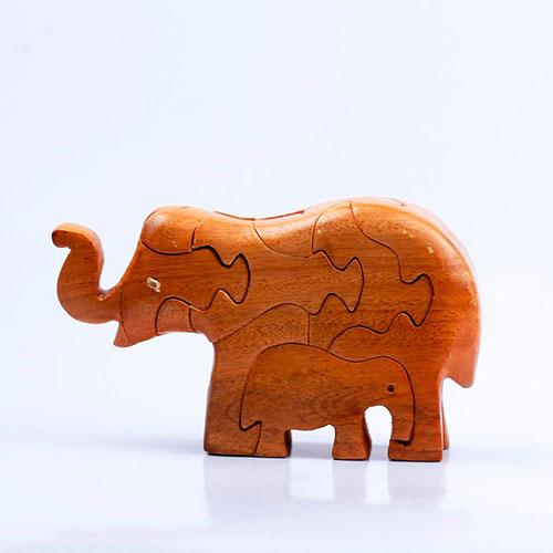 Đồ chơi gỗ voi