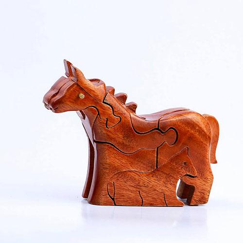 Đồ chơi gỗ ngựa