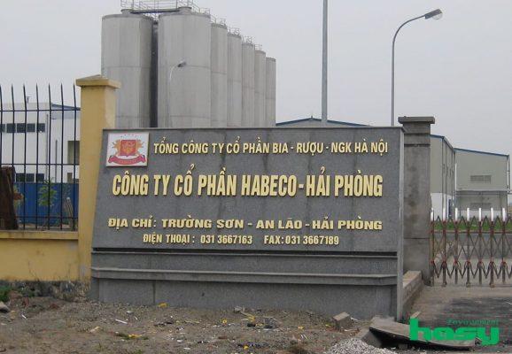 Xử lí nước thải bia Habeco Hà Nội