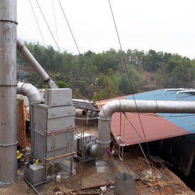 TK, Lắp đặt HTXL khí thải luyện than Tỉnh Điện Biên