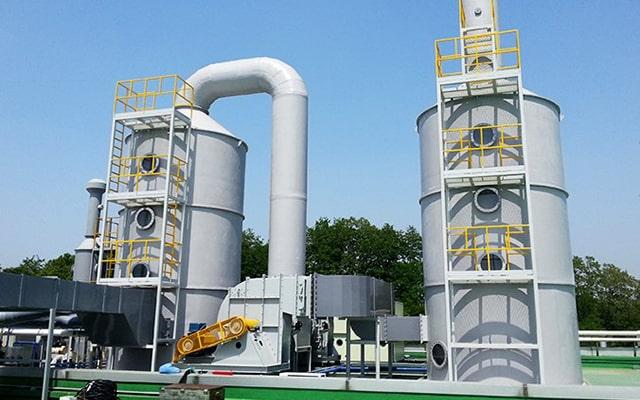 Xử lý khí thải bảo vệ thực vật