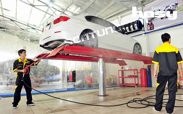 Xử lý nước thải rửa xe