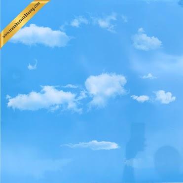 Trần mây trời