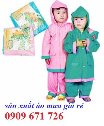 Aó mưa trẻ em
