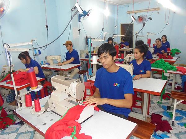 Xưởng may áo thun