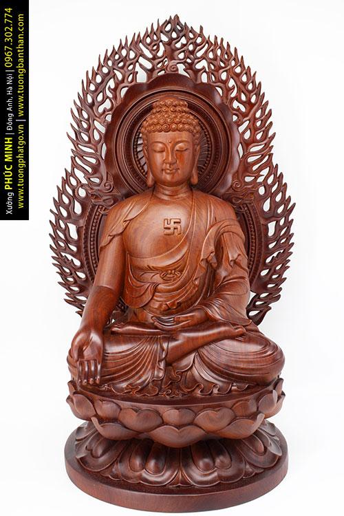 Tượng trong bộ Thất Phật Dược sư