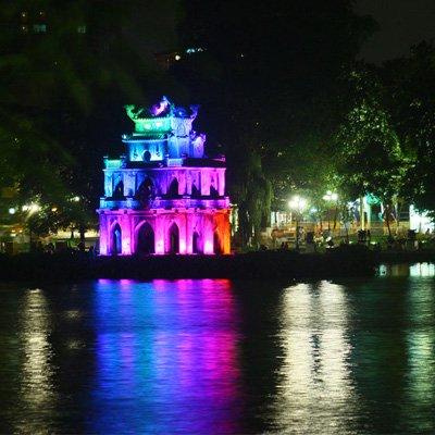 Chiếu sáng Hồ Gươm