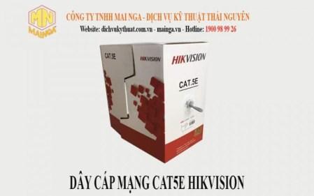 Dây cáp mạng CAT5E Hikvision