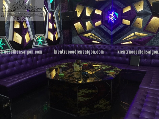 Bàn ghế karaoke cổ điển