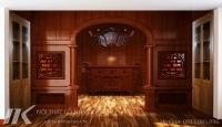 Đồ gỗ phòng thờ