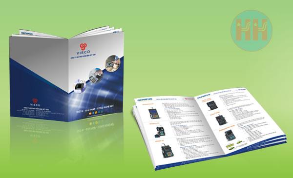 Thiết kế và in Catalogue