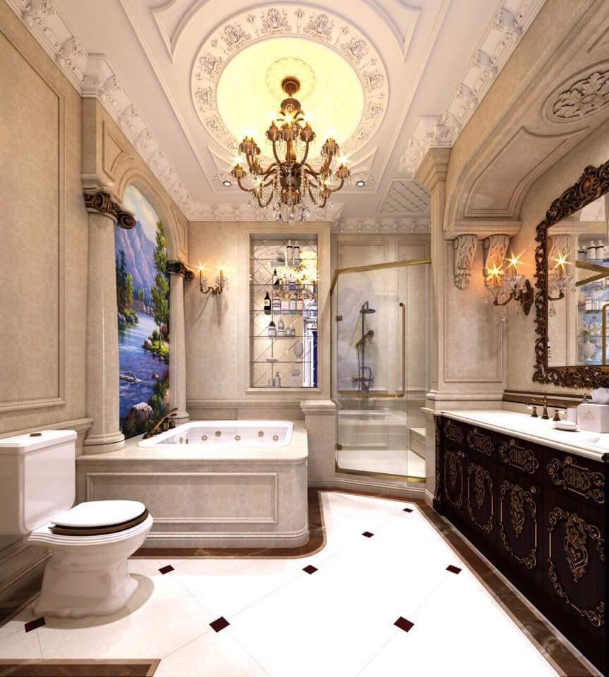 Đá hoa cương nhà tắm