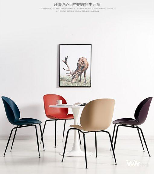 Bộ bàn ăn tròn 4 ghế