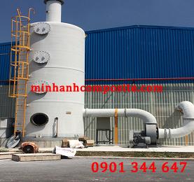 Tháp xử lý khí thải FRP