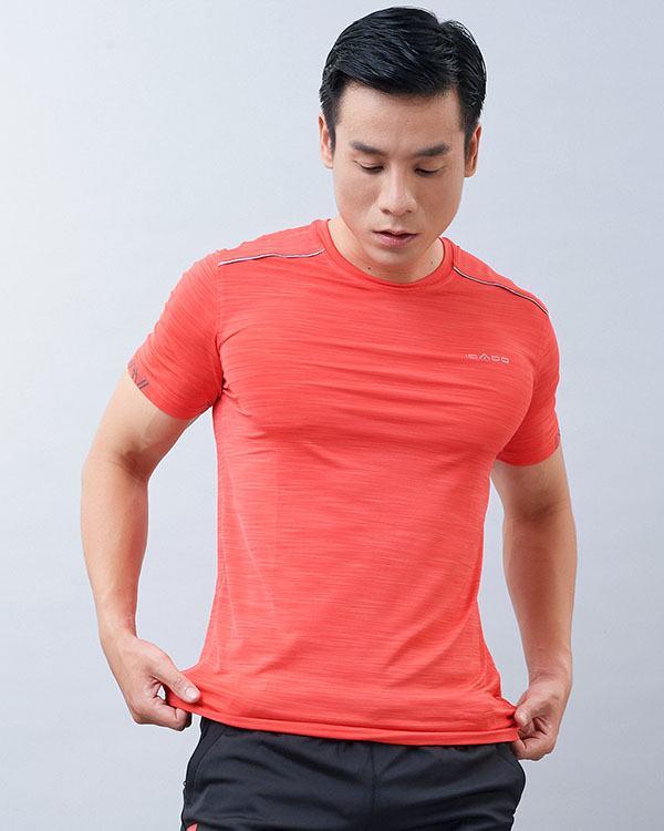 Áo ngắn tay tập gym nam Icado