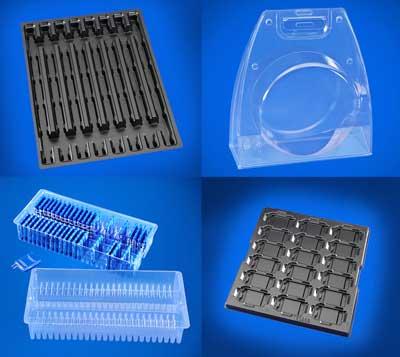 Khay nhựa điện, điện tử