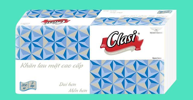 Hộp khăn giấy Clasi