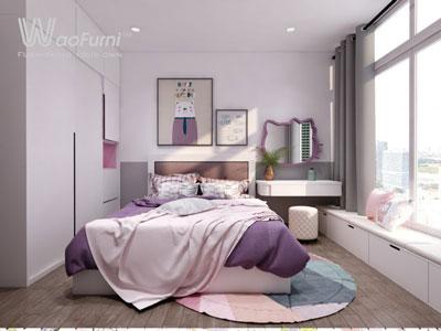 Thiết kế, thi công nội thất phòng ngủ trẻ em