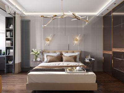 Thiết kế, thi công nội thất phòng ngủ