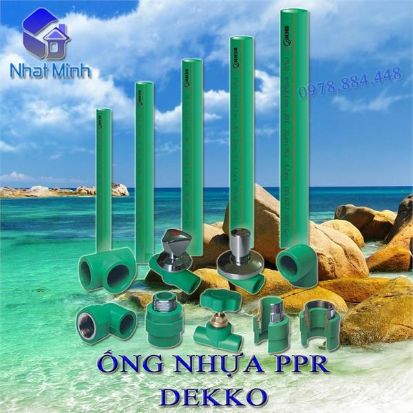 Ống nhựa PPR Dekko