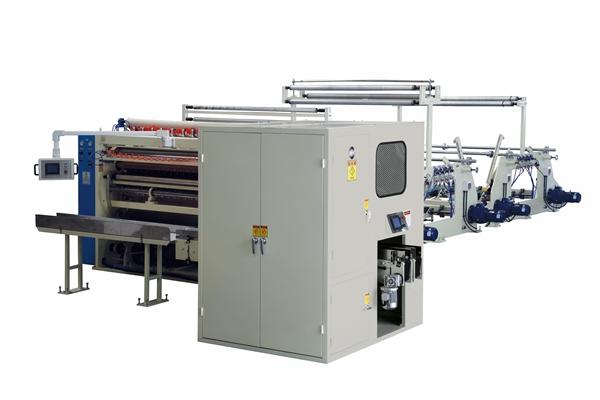 Máy sản xuất giấy rút