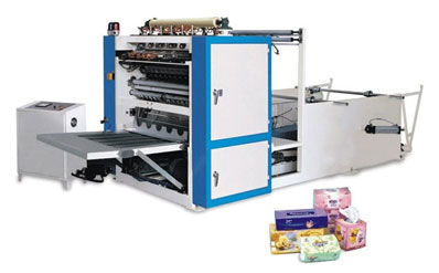 Máy sản xuất khăn ướt