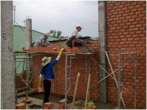Thi công xây dựng dân dụng