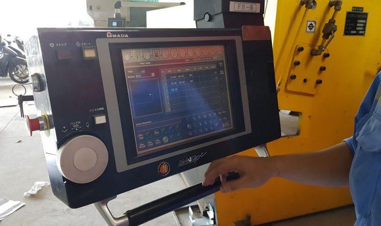 Cắt Laser kết hợp chấn CNC