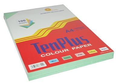 Giấy bìa màu Tenplus xanh lá