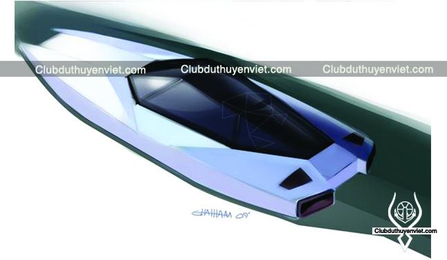 Thiết kế du thuyền mini TE-01