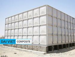 Bồn nước lắp ghép composite